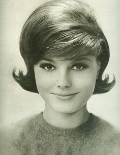 Classic 60's hairstyle