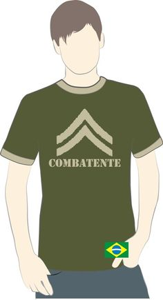 T-shirts Combatente Logo