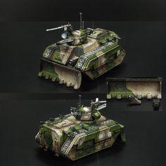 Cadian Chimera Warhammer Armies, Warhammer 40000, 40k Imperial Guard, Chimera, Rifles, Tanks, Army, Miniatures, Crafty