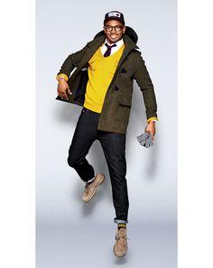 Damon Wayans JR - GQ Photos in Mustard Color: Wear It Now: GQ