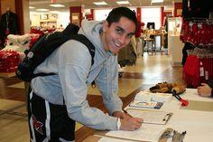 He's registering to vote on NSD! Miami University Bookstore, via Flickr.