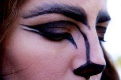 Halloween Makeup Tutorial Wolf Costume - YouTube