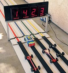 How To Build A Pinewood Derby Track