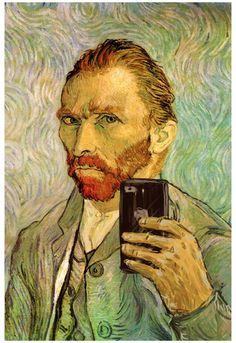 Vincent Van Gogh Selfie Portrait Poster at AllPosters.com