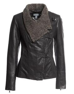 Leather Jacket - Fashion Jot- Latest Trends of Fashion Coats For Women, Jackets For Women, Trendy Clothing Stores, Vip Fashion Australia, International Clothing, Dressing, Fall Winter Outfits, Fashion Outfits, Women's Fashion