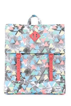 27 Backpacks For The Cool Commuter #refinery29  http://www.refinery29.com/cool-backpacks#slide-11  Two prints are better than one.