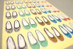 repetto flats -- stickers