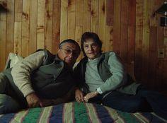 """Pucon 2007. """"con Oscar en la habitación de la cabaña"""""""