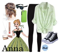 """""""Anna"""" by disneyonrepeat ❤ liked on Polyvore featuring Disney, Allurez, Retrò, OtterBox and Urban Decay"""