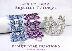 Genie's Lamp Cuff Bracelet Tutorial Arcos by DesertStarCreations