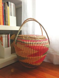 southwestern basket - would be good for laundry