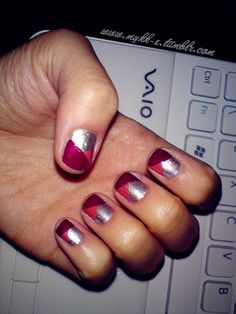 triple threat from lace-nail-art.tumblr.com