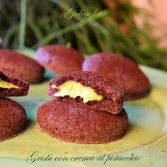 Simil grisbì con crema al pistacchio-ricetta biscotti-golosofia