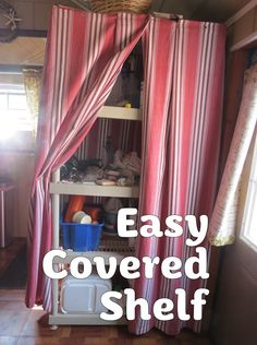 Open Pantry Cover Ideas