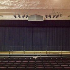 Keith Valley Middle School - Drapery Installation done by Zeo Systems #drapery #draperyinstallations #soundsystems