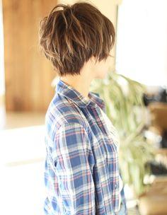 小顔似合わせショート (NB-060)   ヘアカタログ・髪型・ヘアスタイル AFLOAT(アフロート)表参道・銀座・名古屋の美容室・美容院