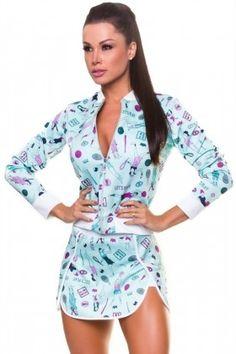 Shorts Saia Contreiras - Hipkini 3334720 Dani Banani Fashion Fitness