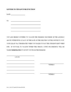 Blank eviction notice form free word templates tenant eviction printable sample tenant 30 day notice to vacate form spiritdancerdesigns