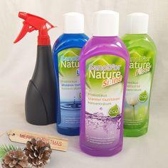 Készülj Velünk a karácsonyi nagytakarításra! Probiotikus egészségbarát koncentrátumaink nagy segítséget nyújtanak majd az ünnepi készülődésben. Egészség- és felületbarát módon biztosítják otthonod tisztaságát! A jótékony baktériumoknak köszönhetően, természetes felület védelem alakul ki a kórokozók ellen. Koncentrált kiszerelés, sav és lúgmentes hatékonyság, biztonságos használat kisgyermekek és házi kedvencek mellett is. :) Még a karácsonyi nagytakarítás előtt odaér! Spray Bottle, Shinee, Cleaning Supplies, Ale, Healthy, Nature, Naturaleza, Cleaning Agent, Ales