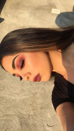 41 Ideas makeup glam looks glamour Full Face Makeup, Skin Makeup, Beauty Makeup, Hair Beauty, Cute Makeup, Gorgeous Makeup, Pretty Makeup, Awesome Makeup, Makeup Goals