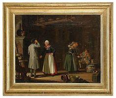 """PEHR HILLESTRÖM  1733-1816  """"Smålänningar"""""""