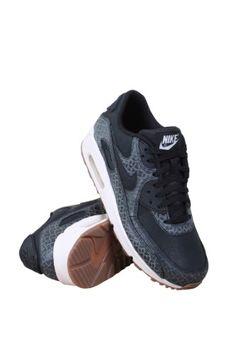 Nike Air Max 90 Premium Women s Shoe Black Sail Medium Brown 443817-010  (9.5 B(M) US) fe827fe4d