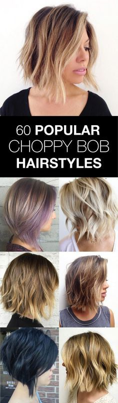 If you walked into your hair salon today looking to reinvent yourself, the chances of you walking out with some sort of choppy bob are pretty good
