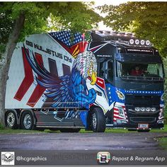 Yesterday we were in to shoot this design and wrapped - molsapictures Show Trucks, Big Rig Trucks, Hot Black Women, Scania V8, Volvo Trucks, Vehicles, Trailers, Star, Design