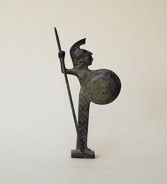 Goddess Athena Bronze Statue by GreekMythos on Etsy,