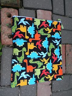 Urban Dino Dinosaur Wet Bag for Cloth Diapers M 13x15