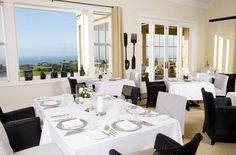 Dining at Cape Kidnappers