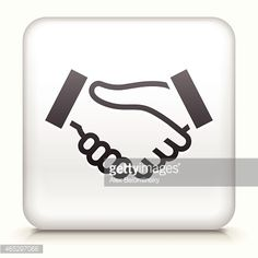Square Button with Handshake royalty free vector art Royalty Free Stock Vector Art Illustration Free Vector Art, Vector Icons, Pin Logo, Business Icon, Free Illustrations, Buttons, Royalty, Concept, Green