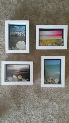 Cholla frame instead of buying photo pinterest cacti craft diy shadowboxes beach tropical nautical photo wall art picture frames solutioingenieria Gallery