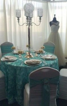 Tiffany Blue Bridal Shower Idea www.MadamPaloozaEmporium.com www.facebook.com/MadamPalooza