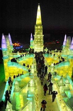 Harbin Ice and Snow Festival, Harbin, China