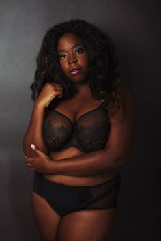 Diversity in Lingerie: Viksen Curvy Lingerie Lookbook. It's so exciting when a lingerie company gets it right. These lookbook photos are just beautiful. Photographer: Julia Javel. Makeup Artist: Tête de Thon. Styling and Concept by Viksen Lingerie.