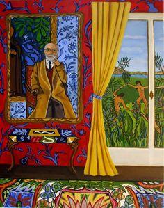"painting ""Ode to Henri"" byCatheri ne Nolin"
