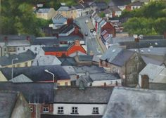 Gallery: Scenes - Paint for Me House Roof, House Painting, Ireland, Scene, Houses, Oil, Landscape, Portrait, Gallery