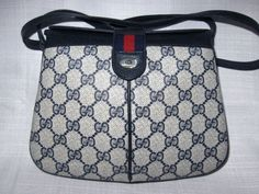 GUCCI MESSENGER BAG Long Strap Vintage So Cute 3 by renee1victor3