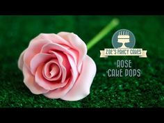 How to Make Rose Cake Pops   Piped Rose Valentine's Treat   CarlyToffle - YouTube