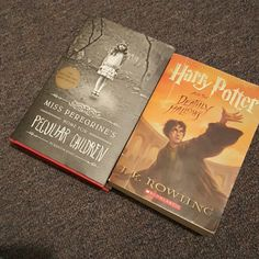 Book bundle:) The final harry potter book and miss peregrine's home for peculiar children:) Urban Outfitters Other