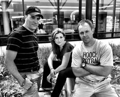 Mike Bettes, Danielle Banks and Producer Mike Jenkins
