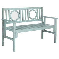 Safavieh Piedmont Wood Garden Bench