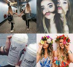 #Inspiração: fotos com as amigas II  Post novo <3