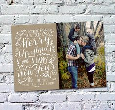 Christmas Card  Merry Christmas and a Happy New Year by deanworks, $15.00