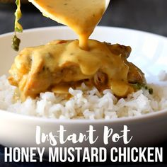 Pressure cooker meals 320670435968977869 - Instant Pot Pressure Cooker Honey Mustard Chicken Source by happyfoodstube Best Pressure Cooker, Pressure Cooker Chicken, Pressure Cooker Recipes, Pressure Canning, Chicken Recipes Video, Crockpot Recipes, Cooking Recipes, Healthy Recipes, Uk Recipes