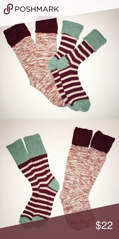 Boot socks from Urban Outfitters 🎉Winter Socks/Boot Toppers Bundle Urban Outfitters Shoes Combat & Moto Boots