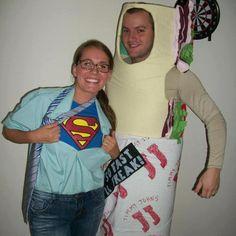 Jimmy John's sandwich Halloween costume. Yes.