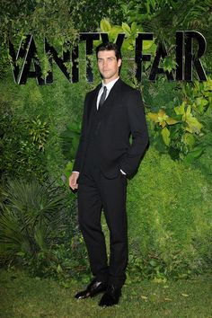 Roberto Bolle wearing Dolce & Gabbana to the Vanity Fair's 10th Anniversary during the 70th Venice International Film Festival at Fondazione Giorgio Cini on September 1, 2013
