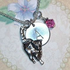 Cat Jewelry  Cat Lover Gift  Cat Lover by DolphinMoonCreations